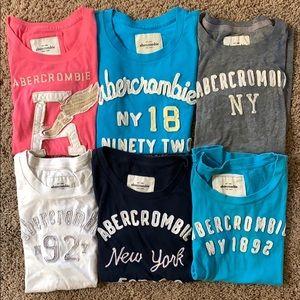 Bundle of 6 abercrombie kids Girl's Tops